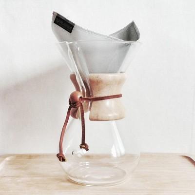 [플라빈] 플라텍스 스텐리스 메탈 커피필터 3~4인용 (하리오/케멕스용)