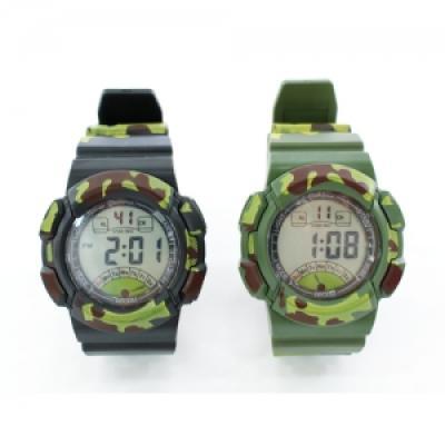 포포팬시 밀리터리 디지털 손목시계 Large