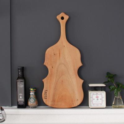 레인트리 통원목 도마-바이올린(대)