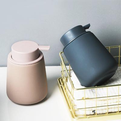 파스텔 세라믹 펌핑 로션 화장품 소분 리필 용기 공병