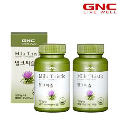[GNC] 밀크씨슬 (60캡슐) 1개월분 x2병
