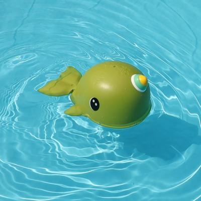 레츠토이 파닥파닥 뿔고래 유아 목욕놀이 장난감