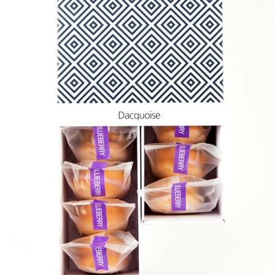 시루아네 블루베리다쿠아즈+ 쇼핑백 (28g X 10개)