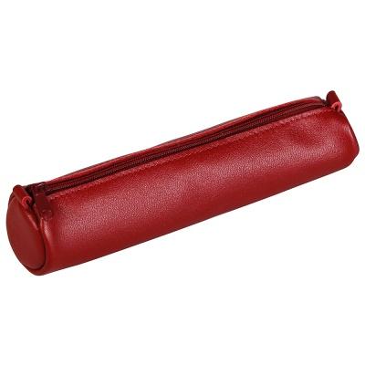 클레르퐁텐 AGE BAG 천연 양가죽 필통 (18.5 x Ø4cm)