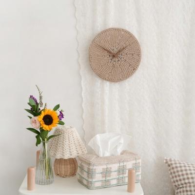 피넛버터 벽시계 - 코바늘 뜨개질 키트