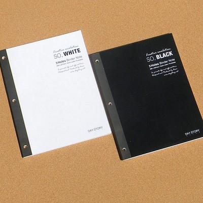 [daystory]  3공 포켓 바인더 전용 리필 속지(유선노트) 4권 B272-2