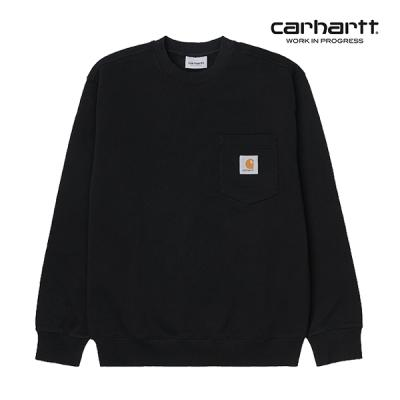 칼하트WIP Pocket Sweatshirt (Black) 포켓 맨투맨
