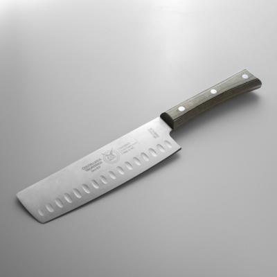 발고비아 페이퍼스톤 할로우 엣지 야채절삭칼 16cm