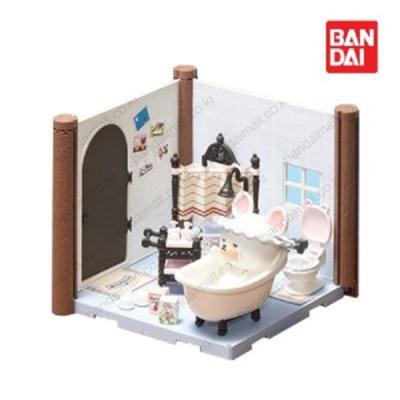 반다이 하코룸 욕실 키트 / 조립 장난감 세트