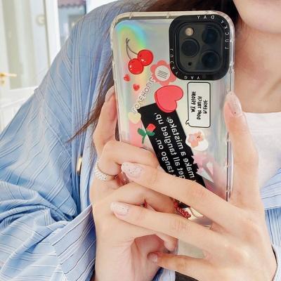 아이폰11pro max/xs xr se2 7 8+ 홀로그램 투명케이스