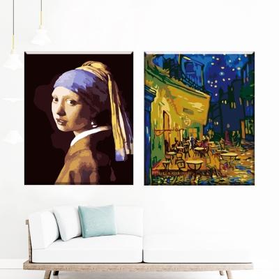 그림그리기 세트 캔버스 유명 명화 40x50cm