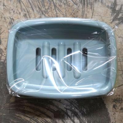 데니베어 생활용품 오픈사각 비누갑 민트 욕실용품