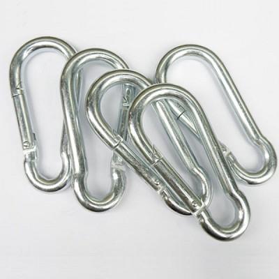 비너(5mm)10개묶음 펜아저씨 고리 텐트용 타프용 다용도고리