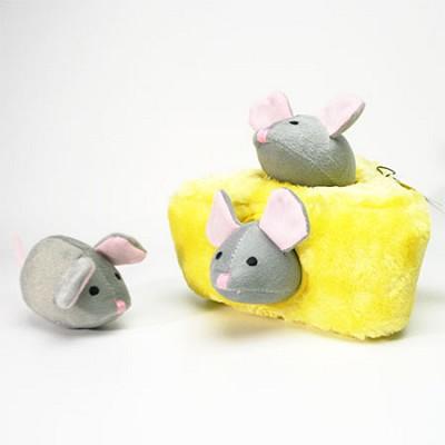 지피포우즈 숨은 마우스 찾기 간식볼&삑삑이 애견/강아지 장난감