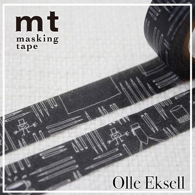 폭15mm-북유럽 감성 일러스트 OlleEksell 작품-일본 mt 디자인 마스킹테이프 Tea Time hd205-olle08