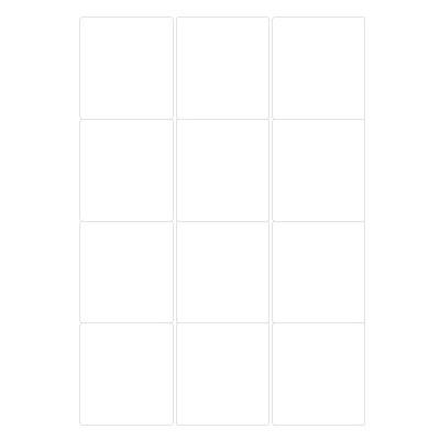 클린오프 라벨[10매] LDR-3112