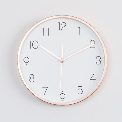 오리엔트 무소음 OT850RG 로즈골드 프리미엄벽시계