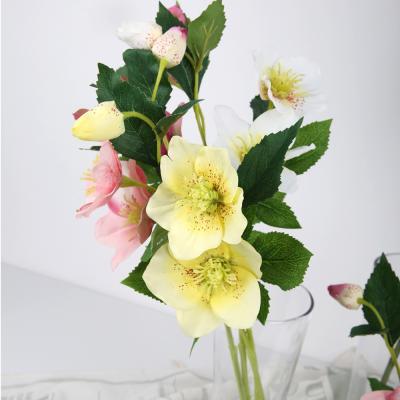 고속터미널꽃시장 크리스마스로즈 장미조화 53cm