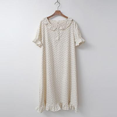 Dot Sleepwear Dress