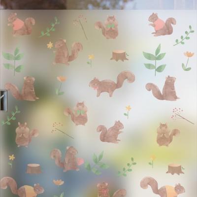 dgse086-아기 다람쥐-반투명시트지