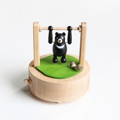 우더풀 라이프 오르골 BLACK BEAR