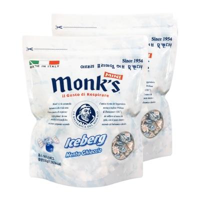 [이태리목캔디] 몽스 아이스버그 캔디 500g x 2봉