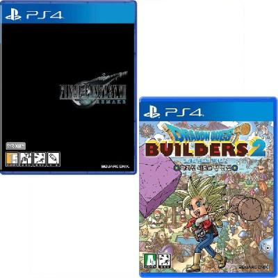 PS4 파이널판타지7 리메이크 + 드래곤 퀘스트 빌더즈2
