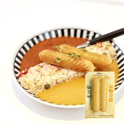 [허닭] 닭가슴살 소시지 그릴후랑크 카레 100g 1+1