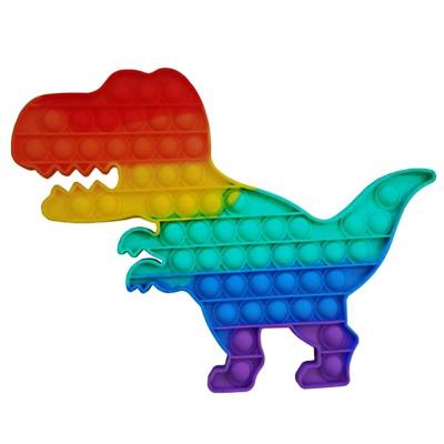 초대형 30cm 공룡 푸쉬팝 버블 팝잇 틱톡 말랑이
