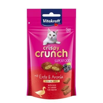 크리스피 크런치 오리&아로니아60g 고양이간식