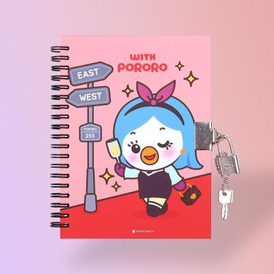 위드 뽀로로 시크릿 열쇠 비밀 일기장 패티