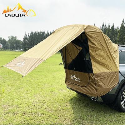 차박 트렁크 텐트 타프 바람막이 10m로프 스토퍼증정