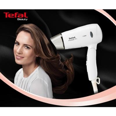 테팔 에센셜 포켓 드라이기 HV1513KO (1300W 파워 / 풍속,온도 2단계조절 / 접이식 손잡이)