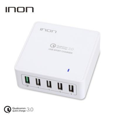 퀵차지3.0 5포트 USB 고속 멀티충전기 IN-UC510