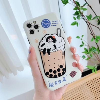 아이폰se2 11pro max xs 8 입체 버블소녀 젤리 케이스
