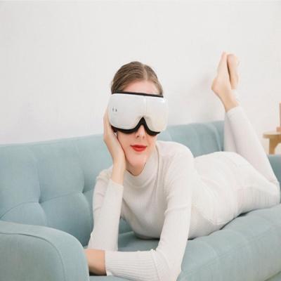 블루투스 무선 눈마사지기 안마기 찜질기 진동 온열