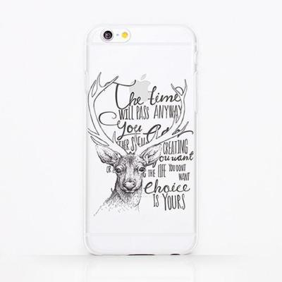 [핸드폰케이스]비내추럴:사슴(001)(필름케이스)