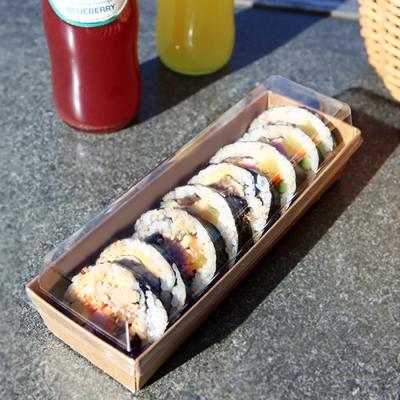 샌드위치 김밥 크라프트 포장 케이스 (5세트)
