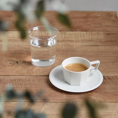 킨토 OCT 컵&소서 220ml (화이트)
