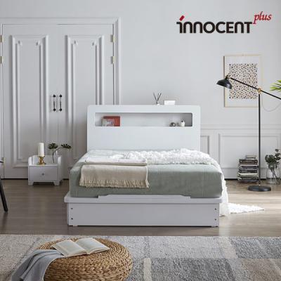 [이노센트] 리브 베리나 LED 평상형 침대 Q/K