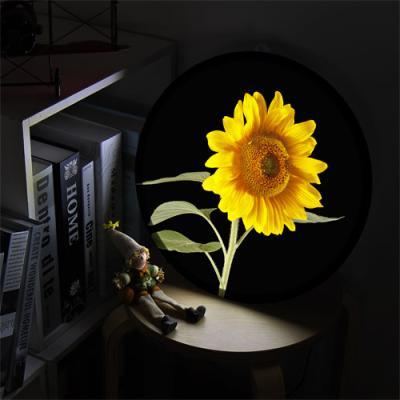 ne515-LED액자35R_풍수밝은기운해바라기