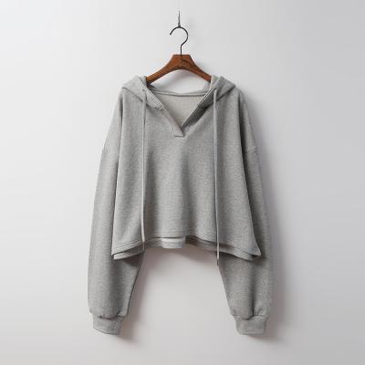 Day Hood Crop Sweatshirt