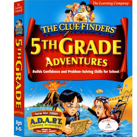[CD-ROM] Clue Finders 5th Grade - 초등 5학년 종합학습