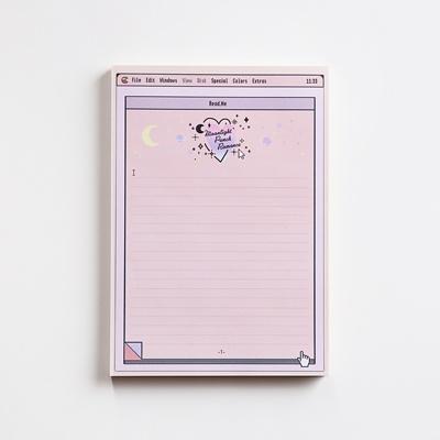 moonlight memo pad