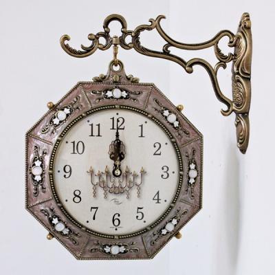(kspz243)팔각양면시계 (골드)