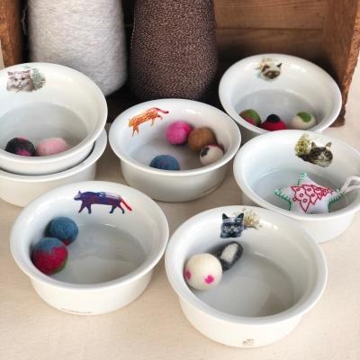 프리미엄 세라믹 고양이식기 국내제작 7종 디자인