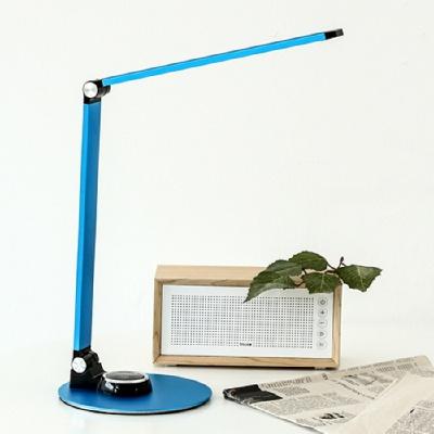 아이린 메탈 LED 스탠드,블루