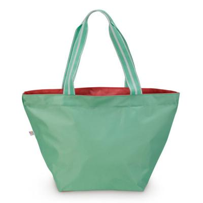 [ALL FOR COLOR]Color Block Tote 컬러블럭 토트백 - Fresh Mint