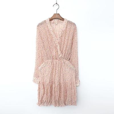 Tina Chiffon Mini Dress