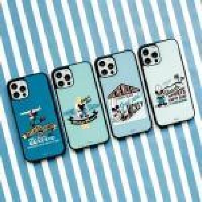 [디즈니정품] 미키 마우스 썸머 서핑 알룸 케이스